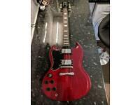 Wilkinson Vintage SG Left Handed Guitar