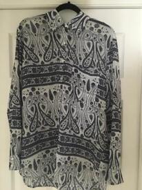 Women's floral shirt