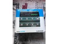 TC Electronic Nova System Multi-effects pedal BRAND NEW!