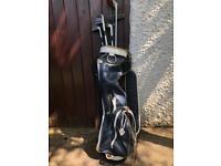 Vintage ladies Slazenger golf bag