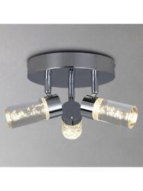 John Lewis Zeus bubbles led bathroom ceiling spotlight RRP £90