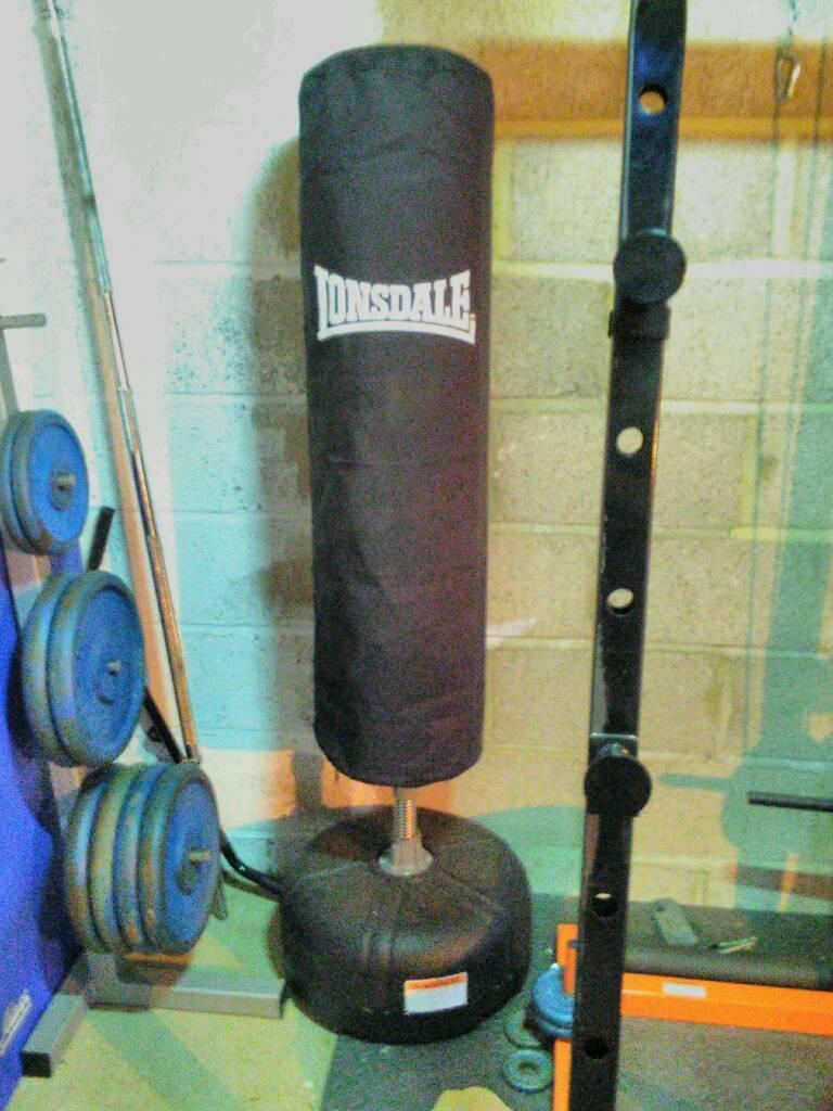Lonsdale freestanding punchbag