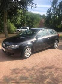 Black Audi A3 1.6 Special Edition 3dr £1200 ono