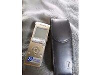 Sony dictaphone