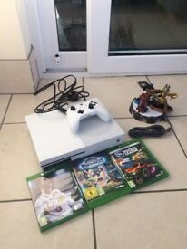 Xbox One S Games and controller.