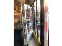 Shop display cabinets