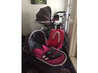 iCandy Peach pink Buggy set