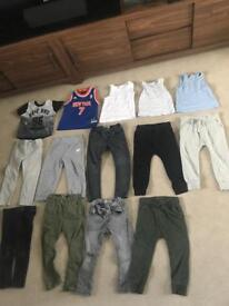 Boys 2-3 years bundle clothes