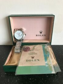 Rolex Oyster Perpetual Explorer II White Free Postage