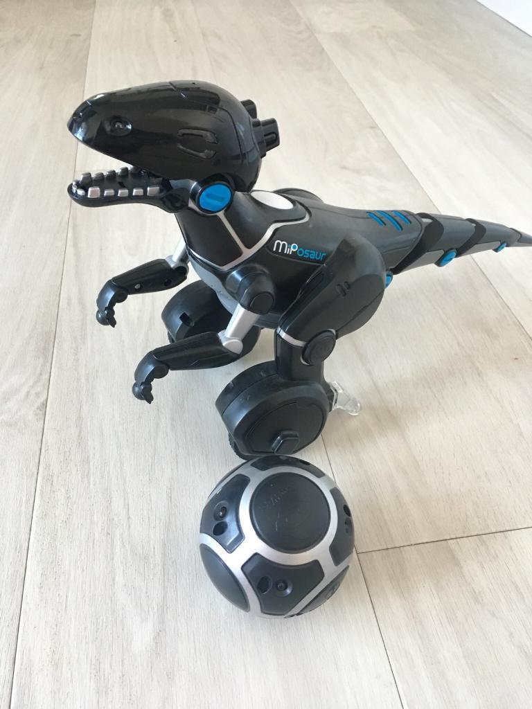 MiPosaur and track ball