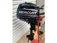 Mercury 2.5 Hp Outboard Boat Engine……Dingy Tender Rib Sib Zodiac Avon Fishing Auxiliary