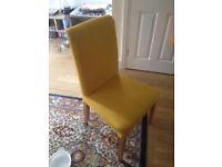 4 chairs in very good condition