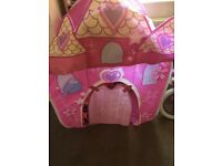 For sale little girls playhouse / tent