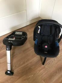 Silver cross car seat and isofix