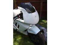 Cbr 600 steelie track bike
