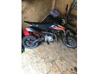 Stomp 110 semi auto pit bike