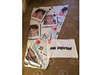 Official One Direction (Character World) One Direction Single Duvet Cover & Matching Pillowcase.