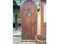 arch top door/frame