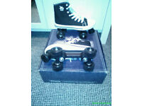 Brand new roller boots
