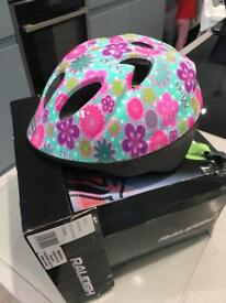 Like new boxed extra small girls bicycle helmet cost £20 bargain £5