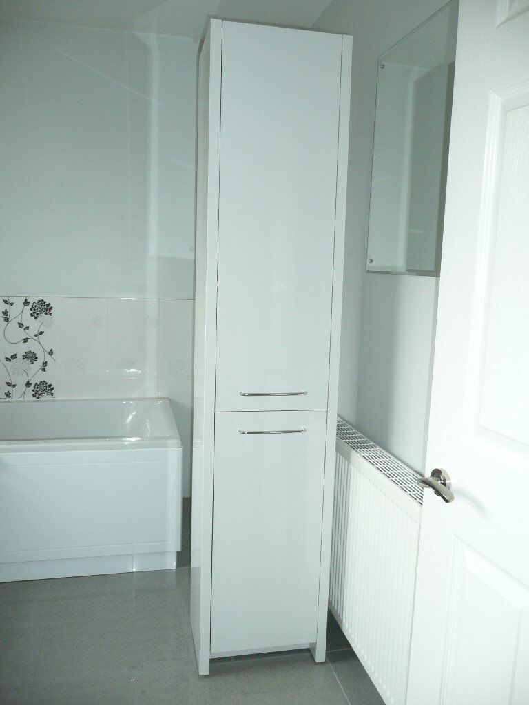 Bathstore OpenSpace 305 tall storage unit- white gloss | in ...