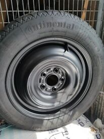 New Spare continental tyre 16 R