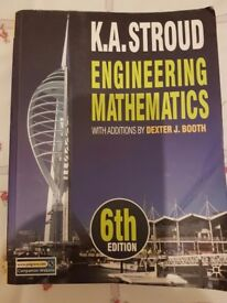 Engineering mathematics 6th edition by K.A Stroud