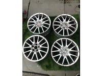 Genuine vw golf Jetta gt 17 inch alloy wheels seat Skoda Audi 5x112