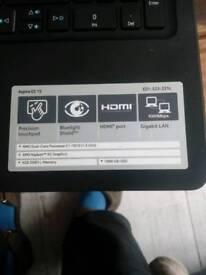 Acer Es 15 4gb laptop