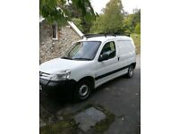 Peugeot partner 2.0hdi van for spares or repair