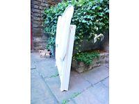 Folding Chair - Heavy duty white plastic