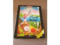 1993 disney beauty and the beast jigsaw