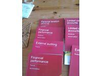 AAT accounts level 4 text and workbooks Osborne (2012/2013)