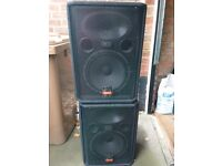 WHARFEDALE PRO EVP-X12P POWERED/ACTIVE PAIR SPEAKERS FOR SALE- BIG PRO SOUND !!!