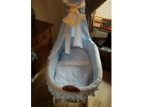 Beautiful baby boy crib need gone