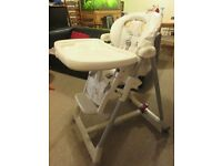 High Chair - Excellent condition