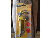 Allen Key Set. Brand New And Sealed
