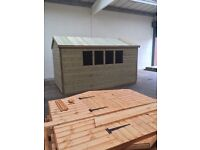 Garden shed and summer house sale now on free torch on felt