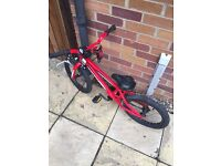Red Kids Bicycle in good condition