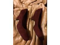 Ladies wedge shoes.