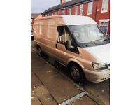 Ford transit low mileage 79.000 and 11 Month mot