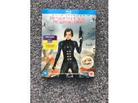 Resident evil blu ray dvd