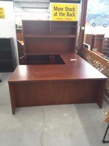 U-shaped Executive Desk