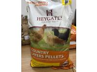 layers pellets & Mixed Poultry Corn