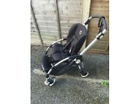 Bugaboo bee pushchair and accessories