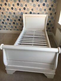 Barker and Stonehouse Claudette Single Sleogh bed frame