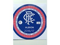 Glasgow Rangers FC Car Park Pass for the Albion Car Park