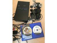 PlayStation 2 with 3 consoles and Games