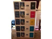 HP ink cartridges colour Laserjet 4500-5550