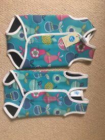 2x Splash About Baby Wraps, Tutti Frutti pattern